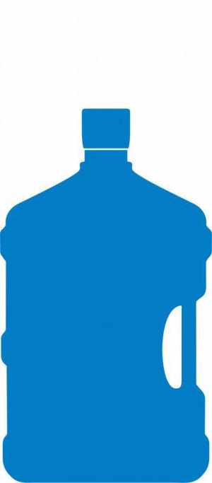 ПЭТ Бутылка 12,5л      (с пробкой)