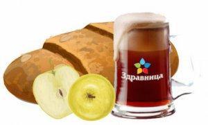 Квас «Яблочный», 1л